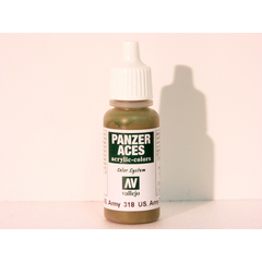 Vallejo 318 - 17ml - US. Army Tankcrew - Acrylic Colors...