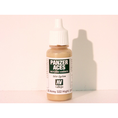 Vallejo 322 - 17ml - Highlight US. Tankcrew - Acrylic...