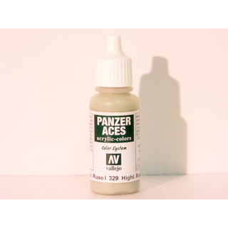 Vallejo 329 - 17ml - Highlight Russian Tankcrew I - Acrylic Colors Panzer Aces