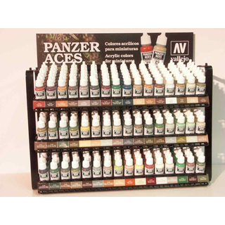 Vallejo 333 - 17ml - German Tankcrew (Black) - Acrylic Colors Panzer Aces