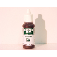 Vallejo 333 - 17ml - German Tankcrew (Black) - Acrylic...