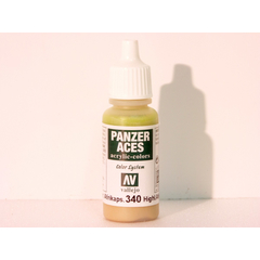 Vallejo 340 - 17ml - Highlight Afrikakorps - Acrylic...
