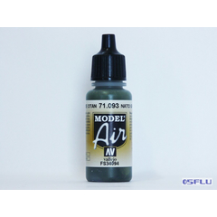 Vallejo 71.093 - 17ml - Nato Green - Model Air
