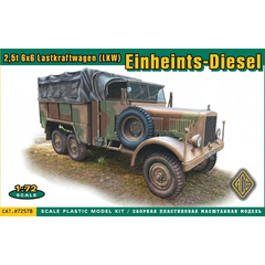 ACE 1:72 72578 German 2.5t 6x6 Lastkraftwagen...