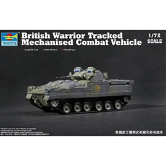 Trumpeter 1:72 07101 British Warrior Tracked Mechanized...