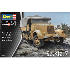 Revell 1:72 03263 German Sd.Kfz. 7 (late Prod.) - NEU!