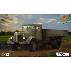 Garbuz Model 1:72 GM72-01 MAZ-200 Cargo Truck - NEU!